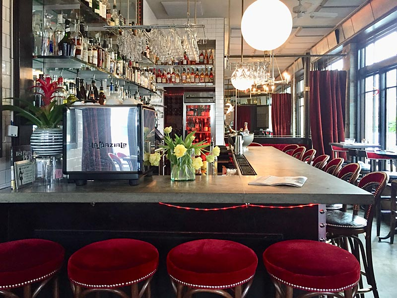 Cafe Nell Interior NW Portland