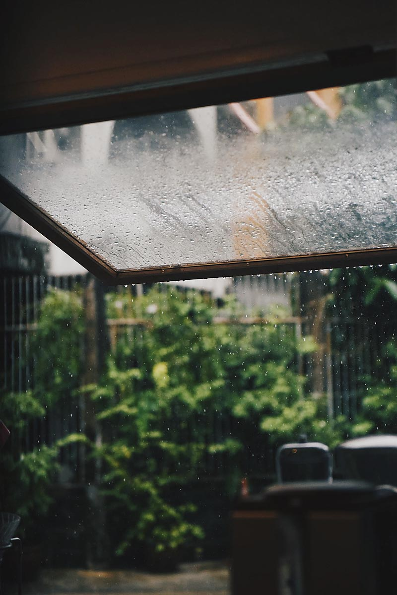 Redirecting Rainwater to natural filters before it hits the storm drains